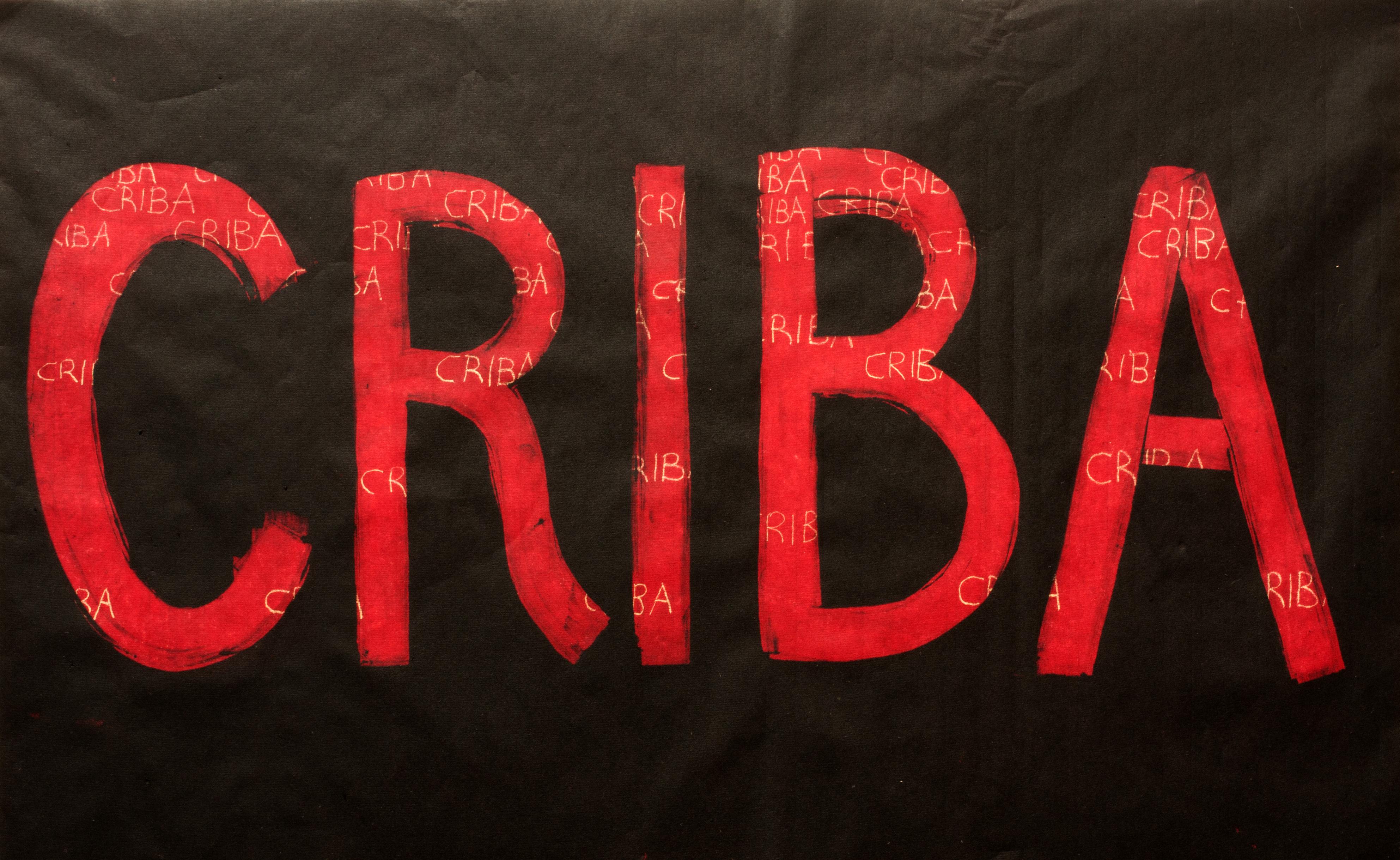 Monoprint CRIBA, Laura Lio, December 2020