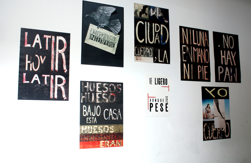 Laura Lio, carteles Casa Banchel